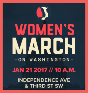 The Women's March on Washington will take a message of women's rights and human rights to newly elected President Donald Trump. (Graphic: Women's March on Washington)