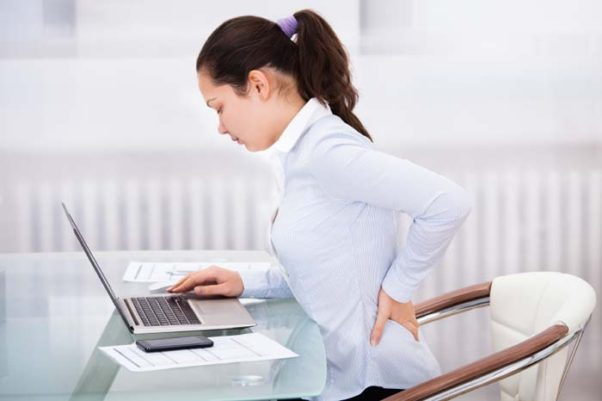 Eighty percent of the population will have back pain during their lifetime. (Phoot: Medical News Today)