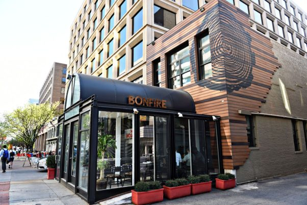 Bonfire, the fire-themed restaurant on M Street NW, closed Sunday. (Photo: Bonfire)