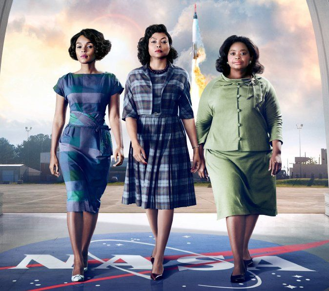 """Hidden Figures"" led the box office the second consecutive weekend with $27.50 million. (Photo: 20th Century Fox)"