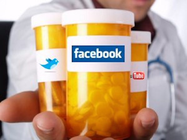 Social media may promote quicker diagnosis and treatment of HIV — which could eventually help reduce the transmission and prevalence of the disease. (Photo: healthcareos.com)