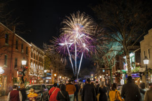 First Night Alexandria features events all day in Old Town followed by free fireworks at midnight over the Potomac River. (Photo: Visit Alexandria)