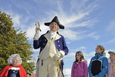 Celebrate George Washington's birthday all weekend at Mount Vernon and get free admission on Monday. (Photo: George Washington's Mount Vernon)
