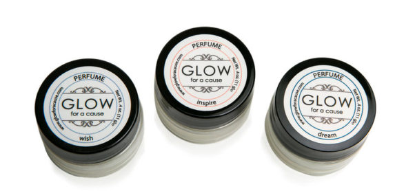 You can easily apply Glow for a Cause's solid perfume by dabbing it on your wrists. (Photo: Glow)
