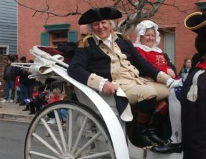 Alexandria's annual George Washingon Birthday Parade begins at 1 p.m. on Monday. (Photo: George Washington's Birthday Celebration)