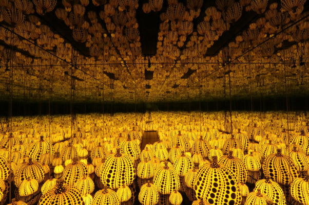 Yayoi Kusama's <em>All the Eternal Love I Have for Pumpkins</em> is included in the Hirshhorn's new display. (Photo: Hirshhorn)