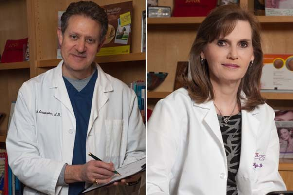 Dr. Dale Issacson (left) and Dr. Marilyn Berzin are rated 2017 Top Doctors by The Washingtonian. (Photos: DC Derm Docs)