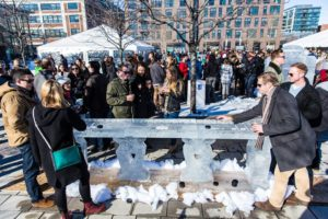 Ice Yards, the all-things winter festival, returns to Yards Park on Sunday, even if the weather isn't so winter-like. (Photo: Kaz Sasahara)