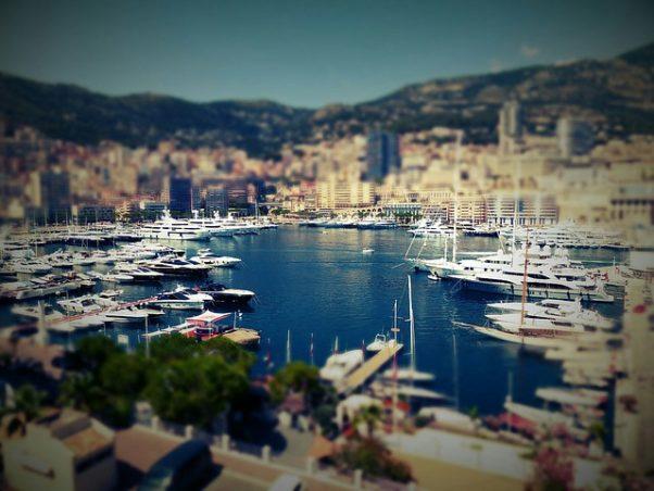 Yachts fill Monoco's Harbor. (Photo: Pixabay)