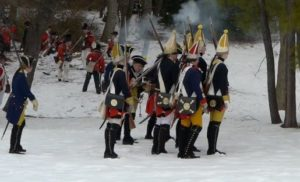 Soliders reenact a Revolutionary War battle in Alexandria's Fort Ward park. (Photo: Shutterstock)