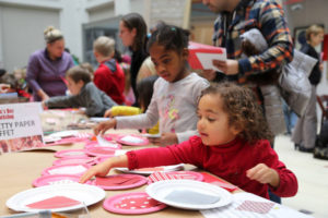 Make free Valentine's Day cards at the National Postal Museum on Saturday. (Photo: National Postal Museum)