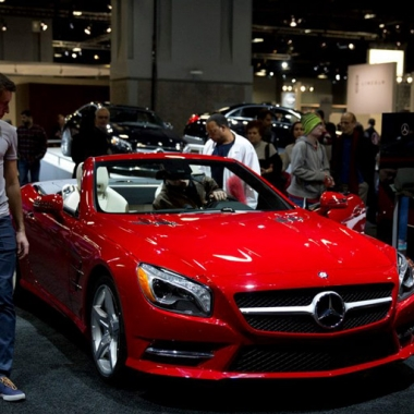 The Washington Auto Show continues through Sunday at the Washington Convention Center. (Photo: Washington Auto Show)