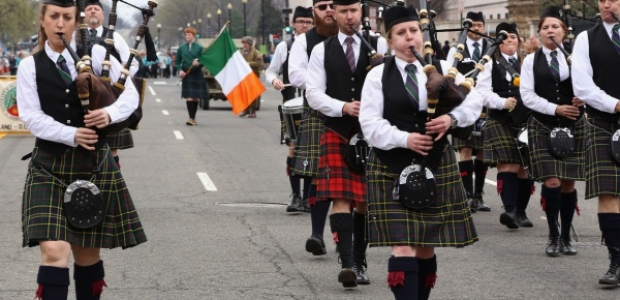 D.C.'s annual St. Patrick's Day Parade steps off at noon on Sunday along Constitution Avenue NW. (Photo: St. Patrick's Parade of Washington D.C.)