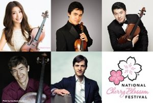 The 6821 Quintet will perform Sunday from noon-1 p.m. at Union Station. (Photo: National Cherry Blossom Festival)