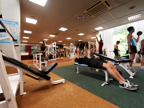 Gyms offer a wide range of equipment and exercises. (Photo: Sport Singapore)
