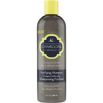Hask Charcoal with Citrus Oil Purifying Shampoo removed all buildup from my scalp. (Photo: Ulta)