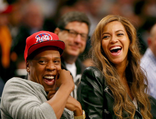 Beyonce and Jay-Z are super famous, yet still manage to look like a real, everyday couple. (Photo: Getty Images)