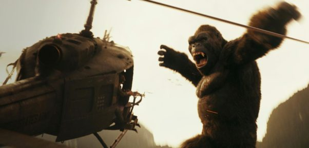 """""""Kong: Skull Island"""" opened atop the weekend box office with $61.02 million over the weekend. (Photo: Warner Bros. Pictures)"""
