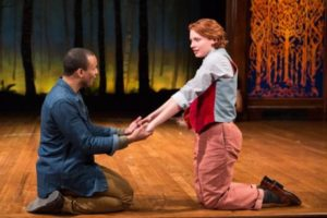 <em>As You Like It</em> closes at the Folger Theatre this weekend. (Photo: Teresa Wood)