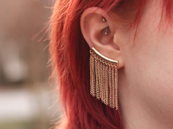 Oversized statement earrings are all the rage this season. (Photo: Jamie/Flickr)