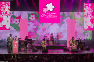 The National Cherry Blossom Festival officialy kicks off at 5 p.m. Saturday at the Warner Theatre. (Photo: National Cherry Blossom Festival)