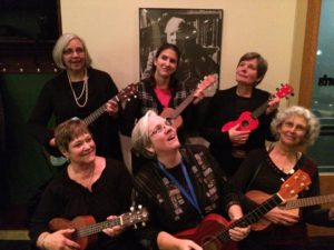 The Allegan Ukulele Orchestra will perform at Archipelago from 7-9 p.m. Sunday. (Photo: Martha Meek)