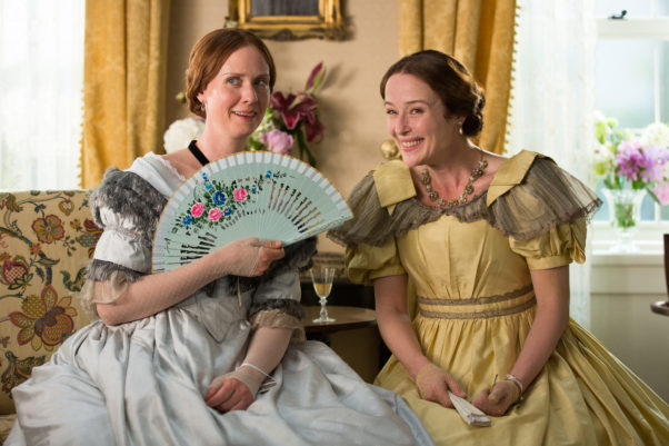 "Cynthia Nixon of ""Sex in the City"" stars in ""A Quiet Passion"" at 8:30 p.m. on Friday at Filmfest D.C. (Photo: Music Box Films)"