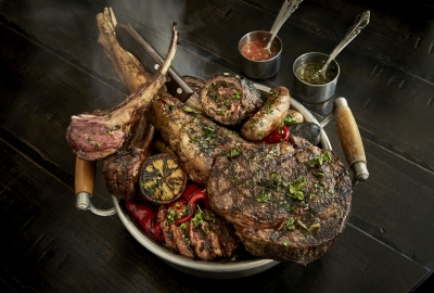 Del Campo meat platter. (Photo: Greg Powers)