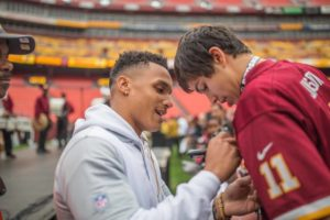 The Redskins host their annual Draft Day Festival on Saturday with new drafts,  current players and more. (Photo: Andre R. Sturdivant)