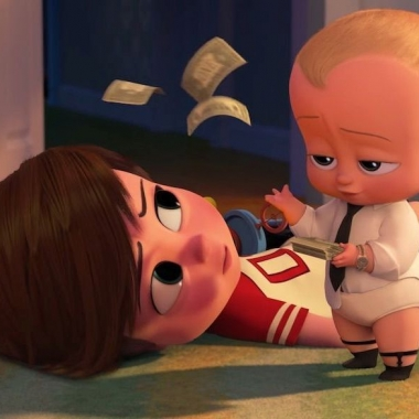 The Boss Baby led for a second straight weekend with $26.36 million, beating out three newcomers. (Photo: DreamWorks Animation)
