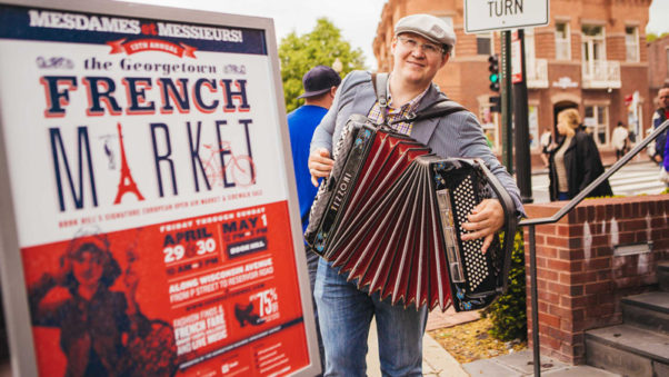 The Georgetown French Market is back Friday-Sunday. (Photo: Georgetown Business Improvement District)