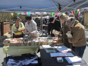 Kensington Day of the Book Festival on Sunday features local authors selling their books. (Photo: Kensington Day of the Book Festival)