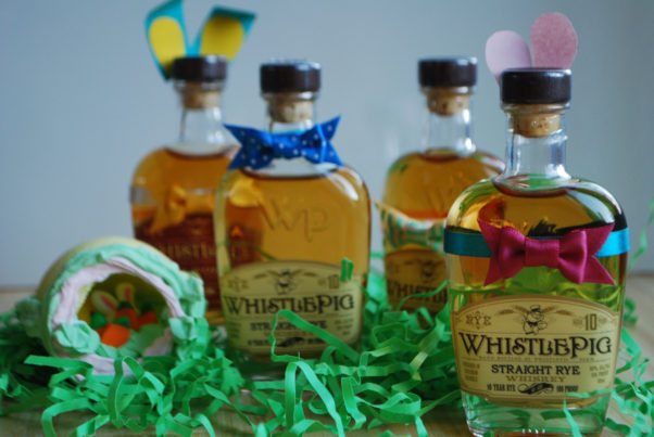 Adults can hunt for ribbon-wrapped bottles of rare WhistlePig Whiskey while kids hunt for candy at Bourbon Steak. (Photo: Bourbon Steak)
