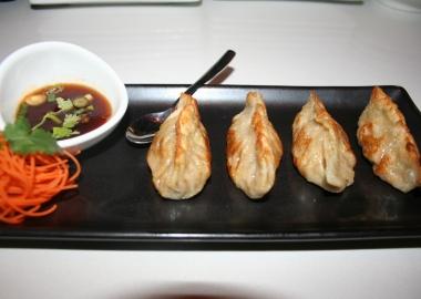 winter squash dumplings by Mark Heckathorn