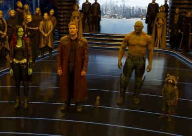 Guardians Of The Galaxy Vol. 2 led for the second straight weekend with $65.26 million. (Photo: Marvel Studios)