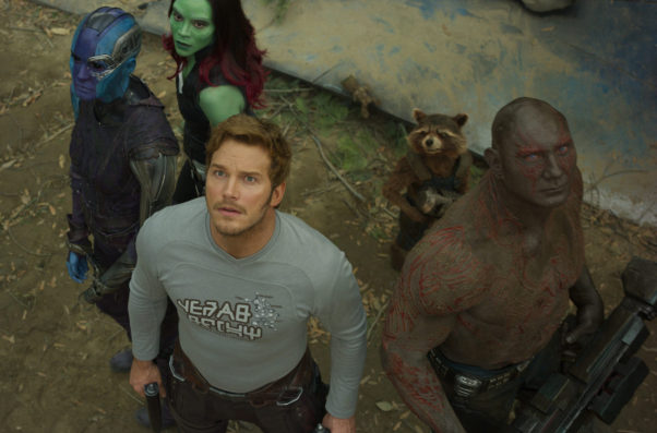 """""""Guardians of the Galaxy Vol. 2"""" couldn't be stopped with a $146.51 million first place opening to jumpstart the summer movie season. (Photo: Marvel Studios)"""