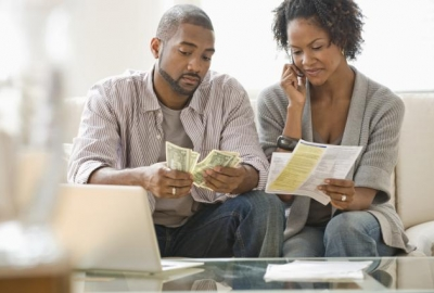 Figure out your finances before marrying your significant other to avoid unnecessary stress. (Photo: Jose Luis Pelaez/Getty Images)