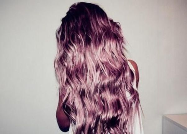Metallic Hair Dyes Come In Fun Colors Like Pinks And Blues Photo Haircutweb