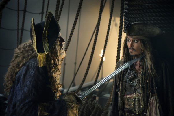 <em>Pirates of the Caribbean: Dead Men Tell No Tales</em> sailed to the top of the Memorial Day weekend box office with a $78.48 million four-day holiday weekend. (Photo: Walt Disney Studios)<em>Pirates of the Caribbean: Dead Men Tell No Tales</em> sailed to the top of the Memorial Day weekend box office with a $78.48 million four-day holiday weekend. (Photo: Walt Disney Studios)