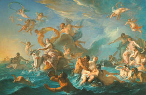 The Abduction of Europa by Noel Nicolas Coypel (Photo: National Gallery of Art)