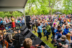 The Kingman Island Bluegrass & Folk Festival retuns to Kingman Island from noon-9 p.m. on Saturday. (Photo: Mark Raker Photography)