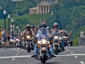 Rolling Thunder is in town for its annual Memorial Day Rally. (Photo: Ron Cogswell)