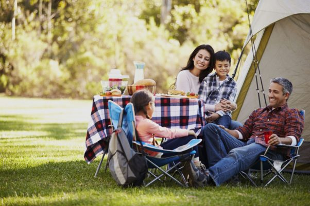 Spending time outdoors is a rite of summer, but also brings its own health hazards. (Photo: Sunbeam)