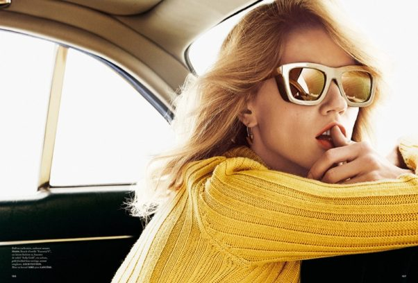 Bigger sunglasses offer more protection because they cover more of your eyes and face. (Photo: Alvaro Beamud Cortes)