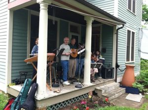 Takoma Porch from 2-6 p.m. on Saturday features acoustic musicians playing on 22 porches. (Photo: Takoma Porch)