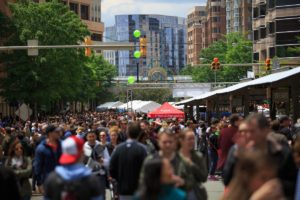 Taste of Arlington returns to Ballston on Sunday. (Photo: Taste of Arlington)