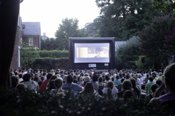 The Dumbarton House hosts the Jane Austen Film Festival Wednesdays in July and early August. (Photo: Chad Williams)