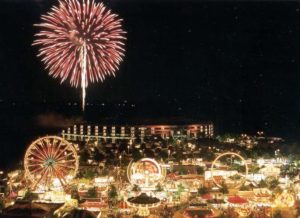 Celebrate Fairfax! includes music, rides and nightly fireworks at the county government center. (Photo; Celebrate Fairfax)