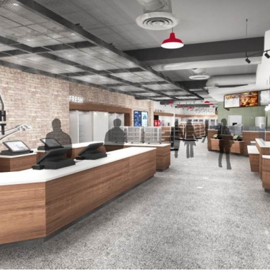Wawa will open its largest store to date in December at 1111 19th St. NW. (Image: Wawa)
