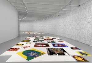 Artist Ai WeiWei displays portraits of activists made out of LEGO blocks at the Hirshhorn. (Photo: HIrshhorn)